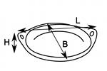 oval saute dish