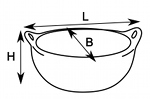 oval casserole